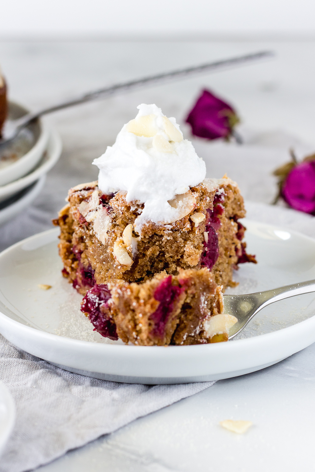 Cherry Almond Coffee Cake Cook