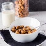 Veganes crunchiges Cookie Cereal #vegan #keks
