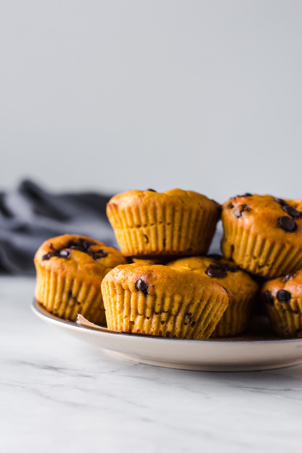 Vegane Orangen Kurbis Muffins Olfrei Veggie Jam